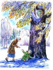 Юрий нагибин зимний дуб читать рассказ