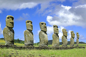 Остров Пасхи. Страна каменных статуй