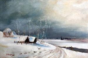 Стихи о серебряной зиме