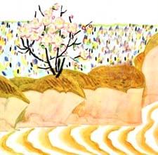 «Стоит река – вся из молока, берега – из киселя». Русская народная сказка