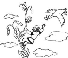 «Мужик на небе». Русская народная сказка