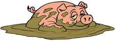 Басня про свиней