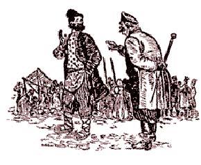Русская народная сказка «Плотник и клин»