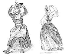 """Раскраски """"Старинные народные танцы"""""""