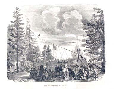 Петербург в XIX веке. Крестовский остров