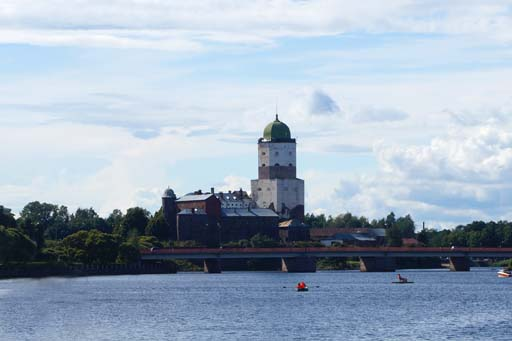 Замок в Выборге. Рассказ и фото
