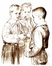 Отзыв о рассказе В.Осеевой «Три товарища»