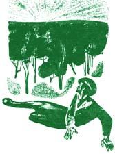 """Отзыв о рассказе Р.Брадбери """"Зеленое утро"""""""