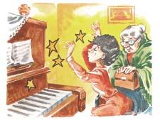 """Отзыв о рассказе И.Пивоваровой """"Как меня учили музыке"""""""