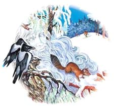 Отзыв о сказке Ушинского «Проказы старухи зимы»